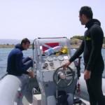 Partenza per l immersione